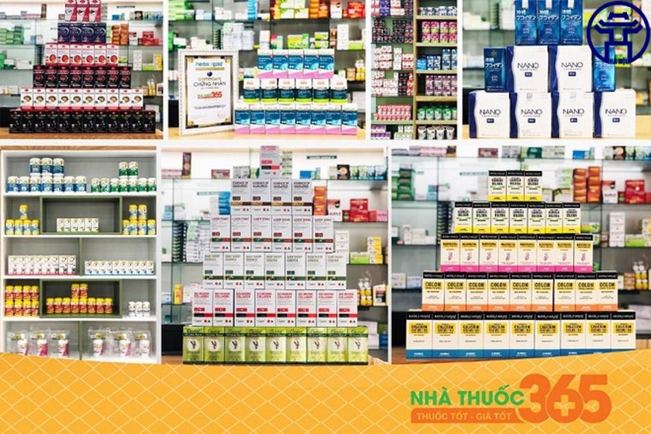 Nhà thuốc cung cấp đa dạng các loại sản phẩm chăm sóc sức khỏe