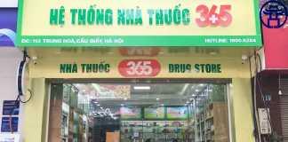 Nhà thuốc 365 là thương hiệu nổi tiếng chuyên bán buôn, bán lẻ các mặt hàng chăm sóc sức khỏe