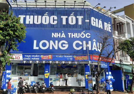 Chuỗi nhà thuốc Long Châu là hệ thống bán lẻ dược phẩm uy tín hàng đầu với nhiều cơ sở trải dài từ Bắc vào Nam với đa dạng sản phẩm: thuốc, dược mỹ phẩm,...
