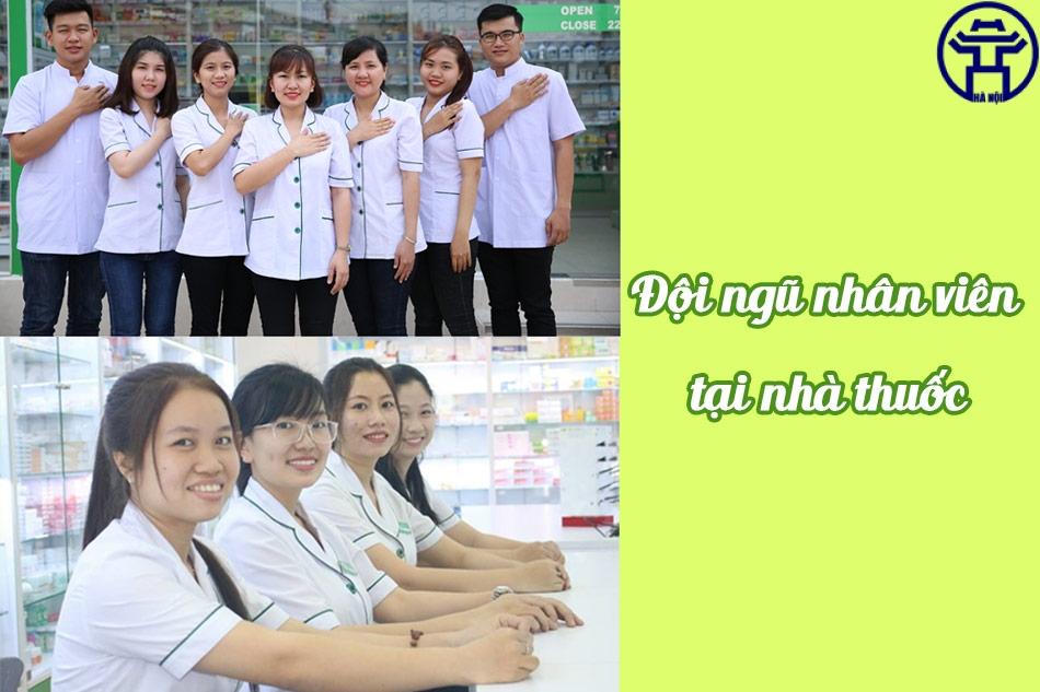 Những dược sĩ, nhân viên tại nhà thuốc An Khang luôn quan tâm tới khách hàng, giúp khách hàng cảm thấy thoải mái nhất khi mua sắm