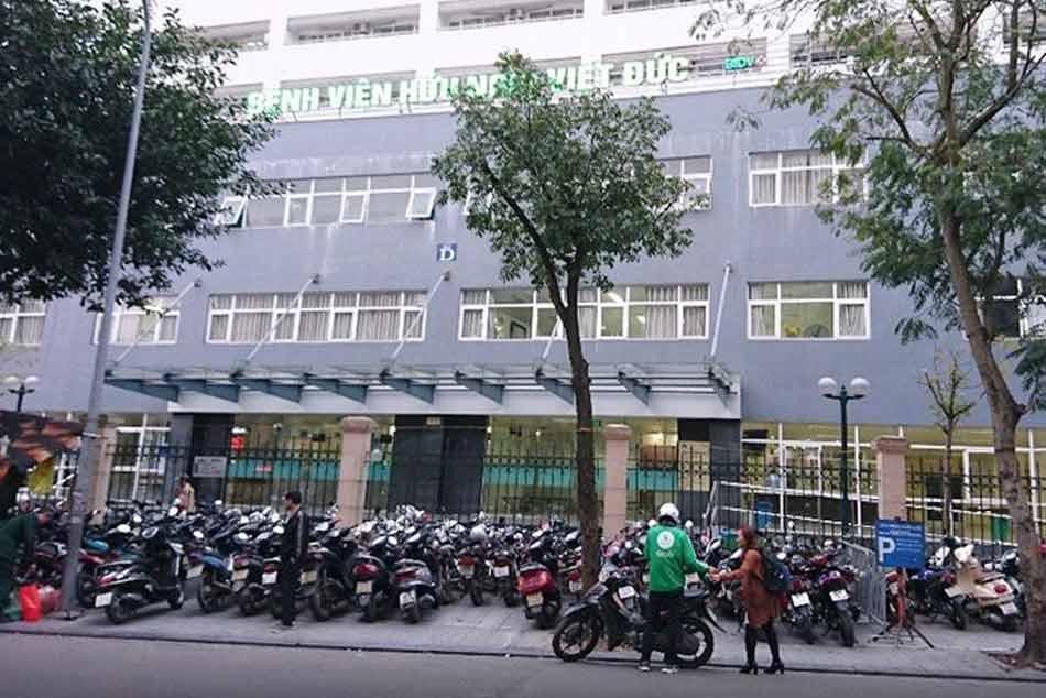 Một góc nhà của bệnh viện
