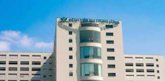 Tòa nhà bệnh viện Nhi Trung ương