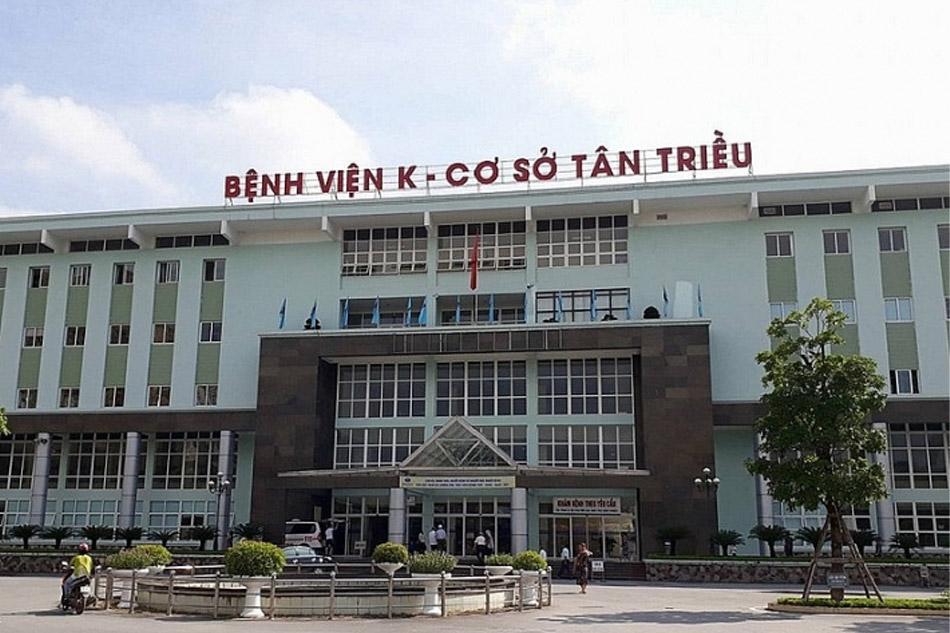 Bệnh viện K cơ sở Tân Triều