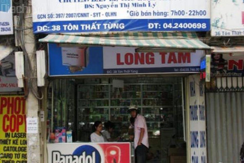 Hình ảnh nhà thuốc số 5 Long Tâm ở 38 Tôn Thất Tùng