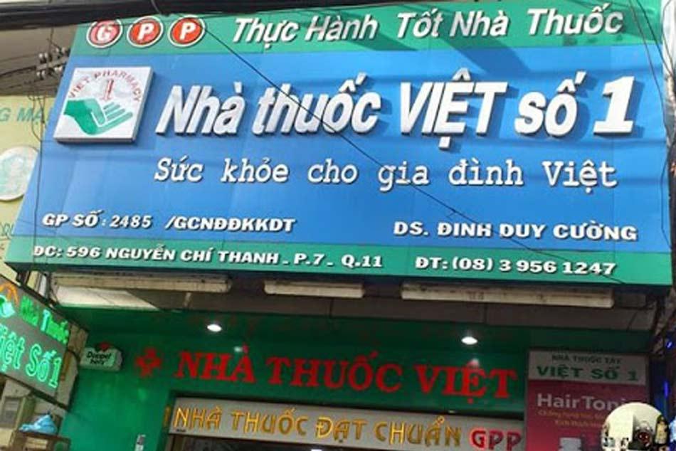 Mặt trược nhà thuốc Việt số 1