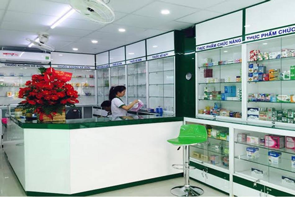 Hình ảnh bên trong của nhà thuốc Việt số 1