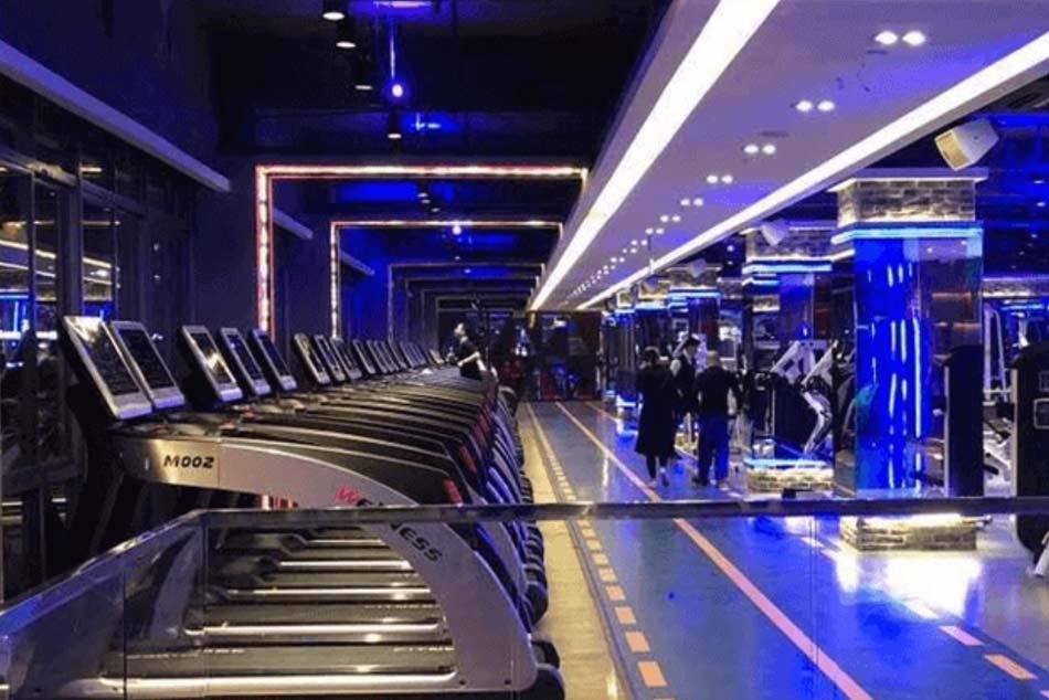 Máy chạy bộ ở Blue Gym VT6