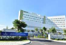 Toàn cảnh bệnh viện Đa khoa Quốc tế Vinmec