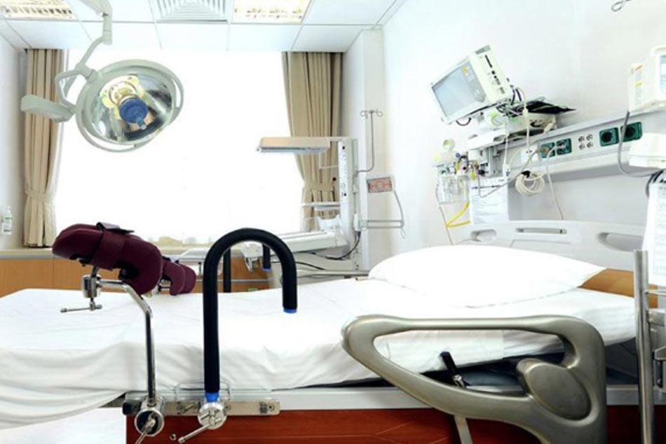 Phòng bệnh được lắp đặt cơ sở vật chất hiện đại