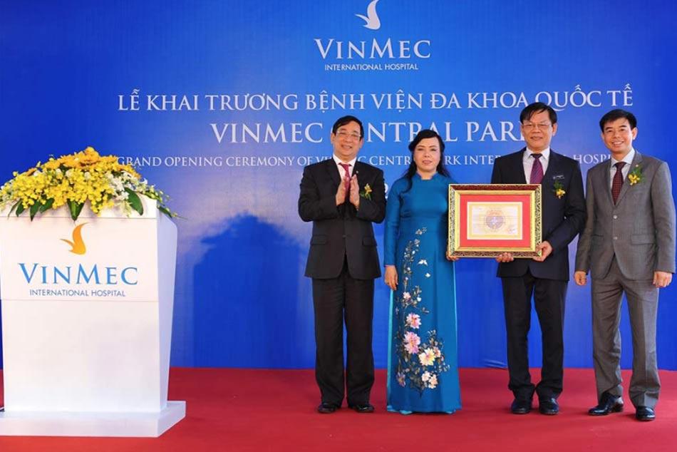 Bệnh viện Vinmec khai trương cơ sở VinMec Central Park