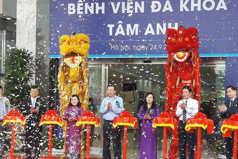Bệnh viện đa khoa Tâm Anh khai trương cơ sở mới