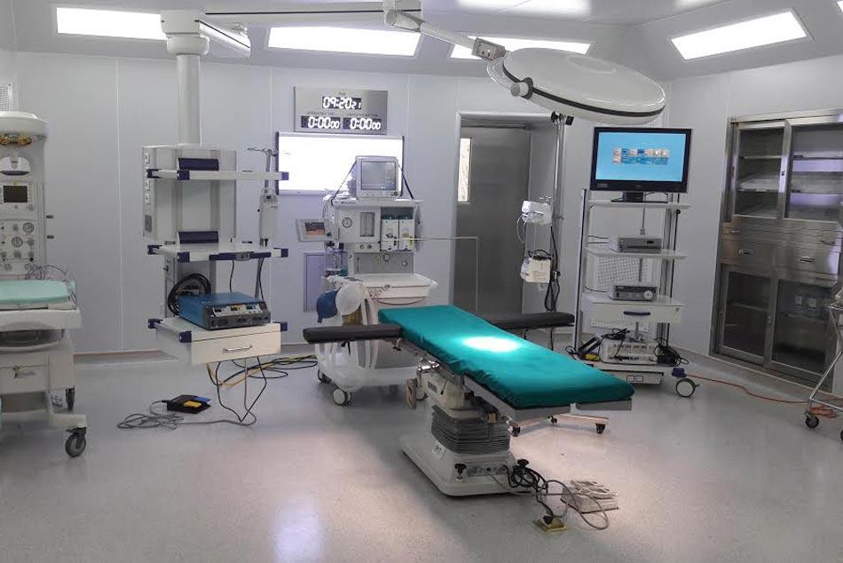Bệnh viện có cơ sở vật chất hiện đại