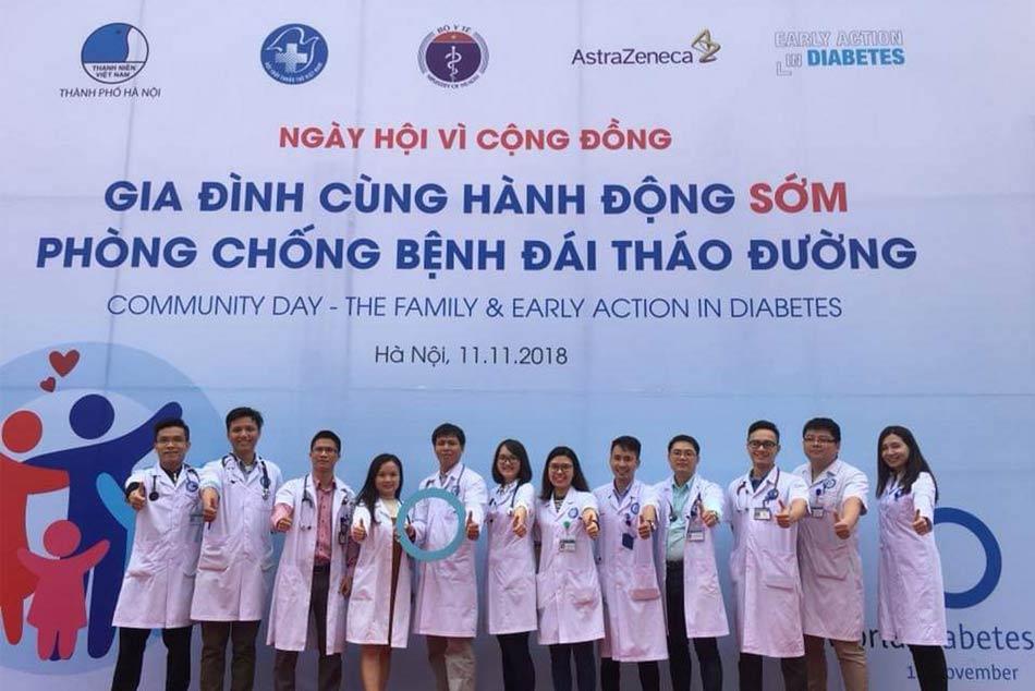 Các bác sĩ cùng chung tay chống bệnh đái tháo đường