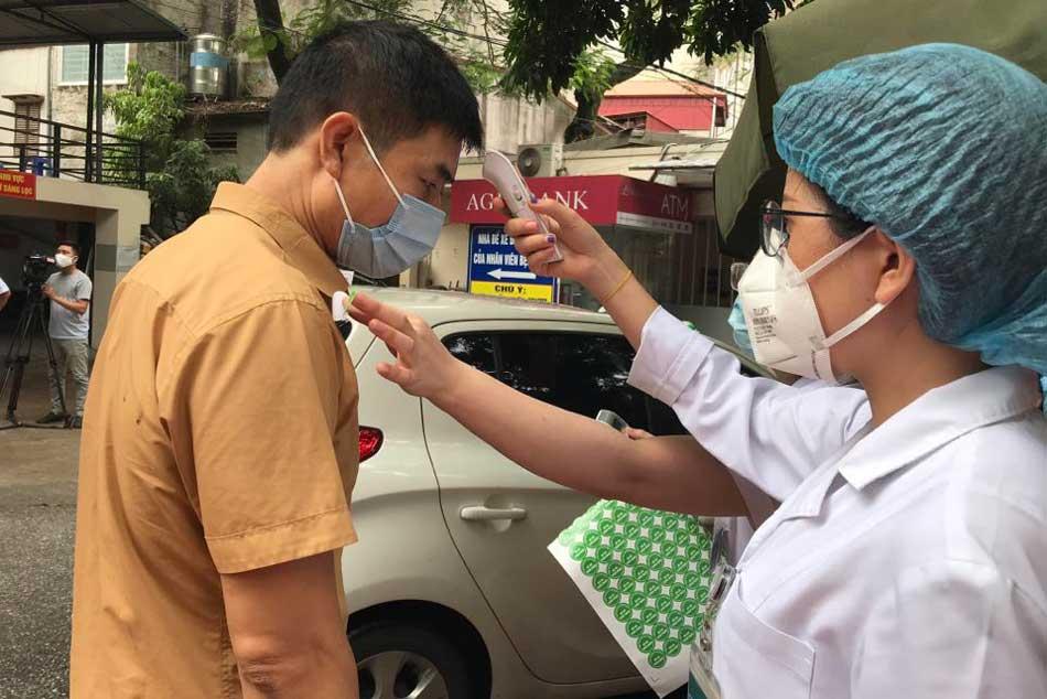 Bệnh viện áp dụng nghiêm ngặt quy tắc phòng chống dịch bệnh của Bộ Y Tế