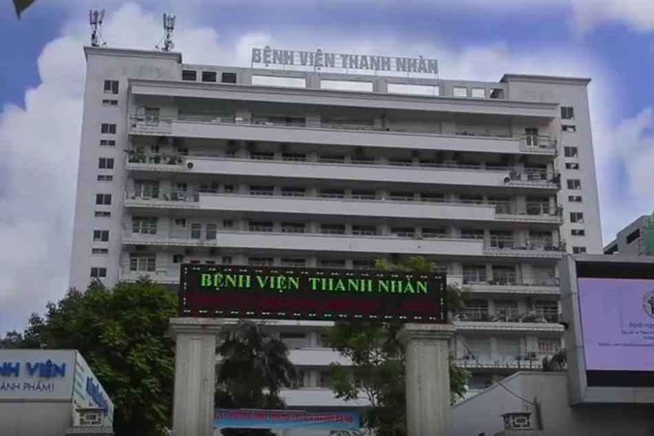 Bệnh viện Thanh Nhàn khu nội trú
