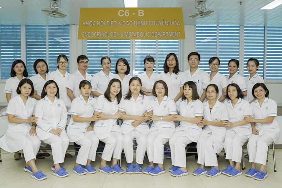 Khoa nội tiết và các bệnh chuyển hóa