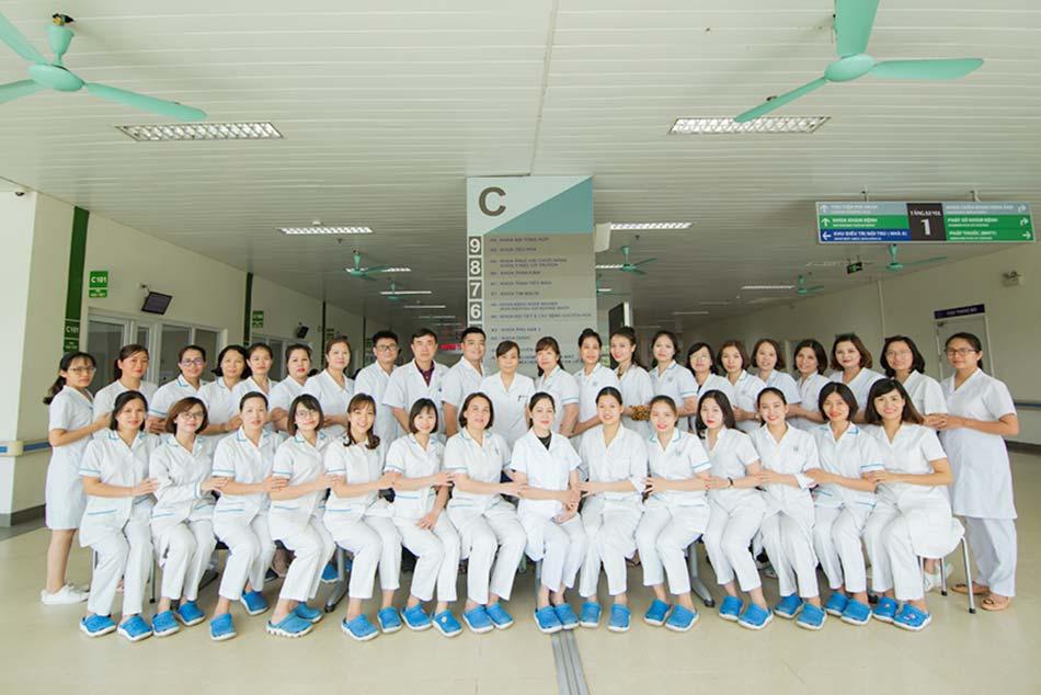 Khoa khám bệnh bệnh viện Thanh Nhàn