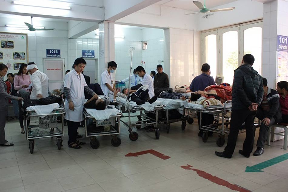 Phòng cấp cứu bệnh nhân