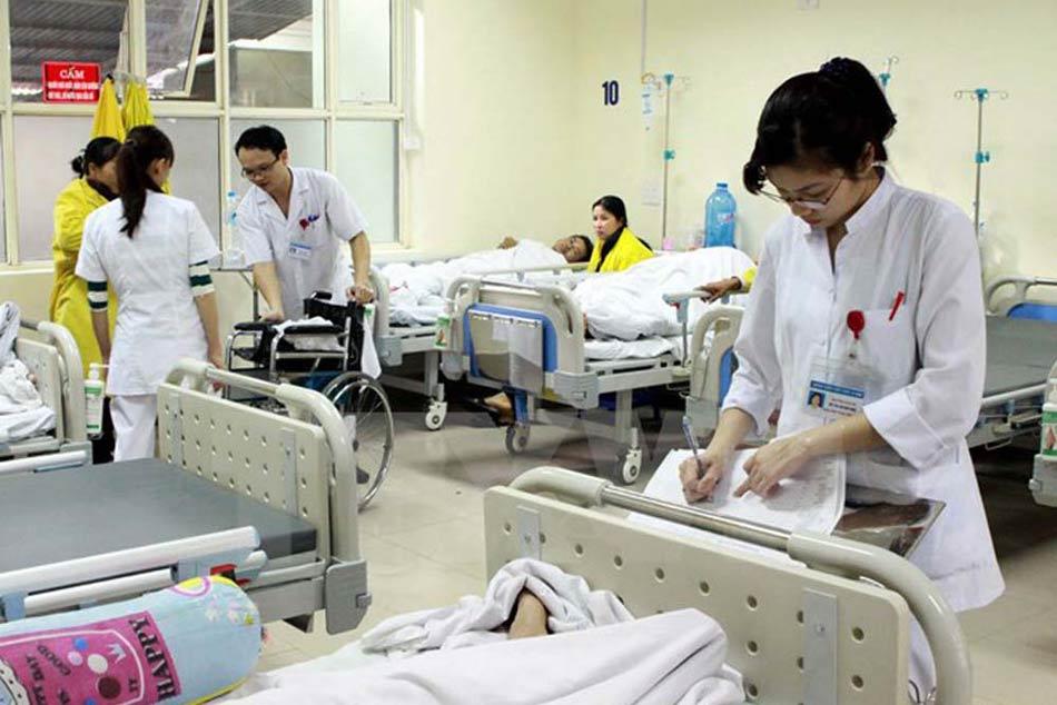 Phòng bệnh nhân nội trú điều trị
