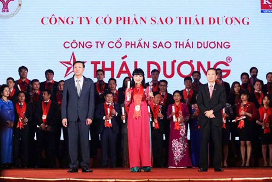 Công ty vinh dự nhận giải thưởng thương hiệu mạnh Việt Nam