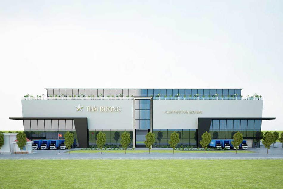 Nhà máy công ty cổ phần Sao Thái Dương