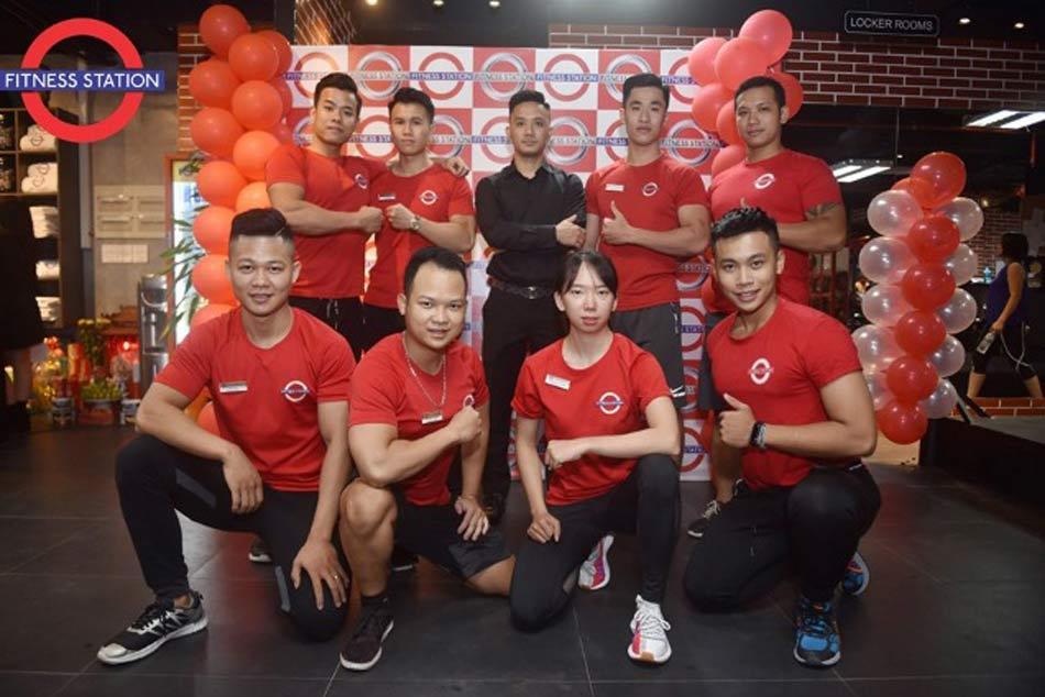 Đội ngũ huấn luyện viên của Fitness Station