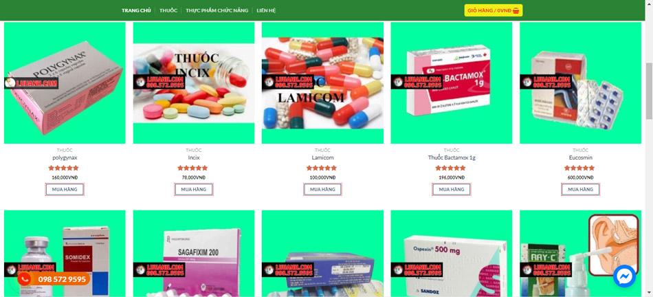 Nhà thuốc online Lưu Anh có uy tín không?