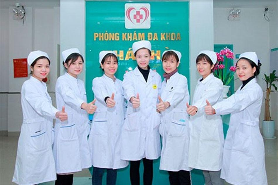Đội ngũ y, bác sĩ phòng khám đa khoa Thái Hà