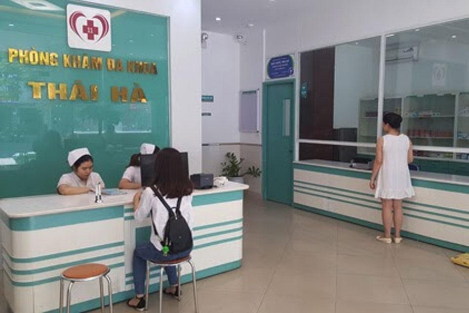 Các dịch vụ khám chữa bệnh tại phòng khám Thái Hà