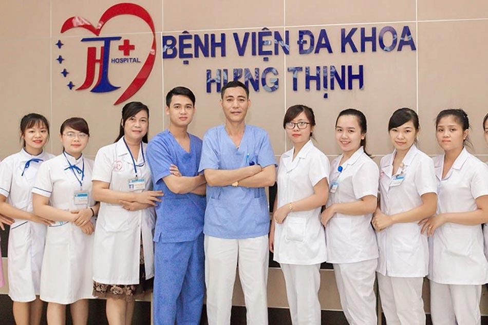 Đội ngũ y, bác sĩ phòng khám Hưng Thịnh