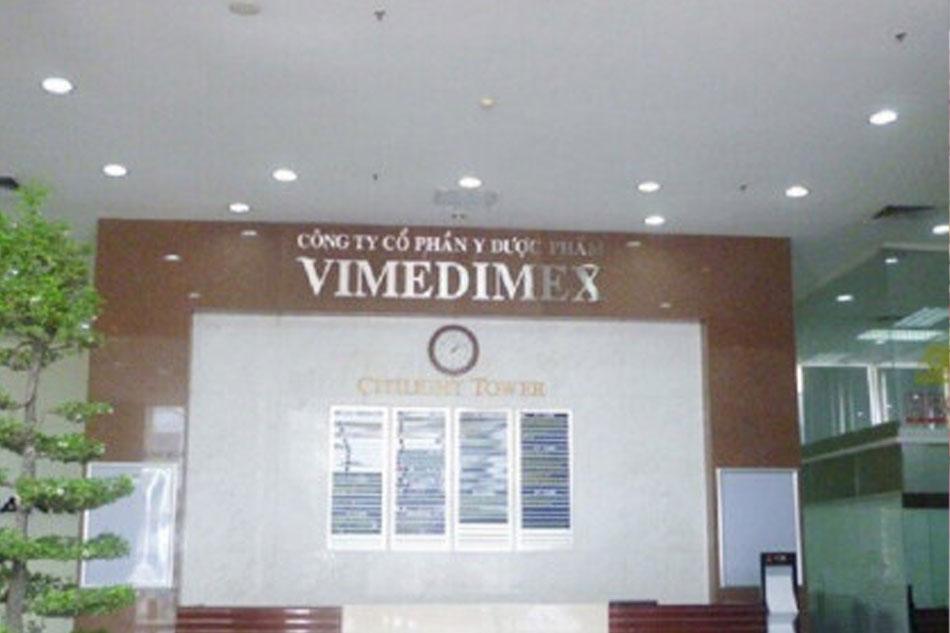 Lịch sử hình thành hãng dược phẩm Vimedimex
