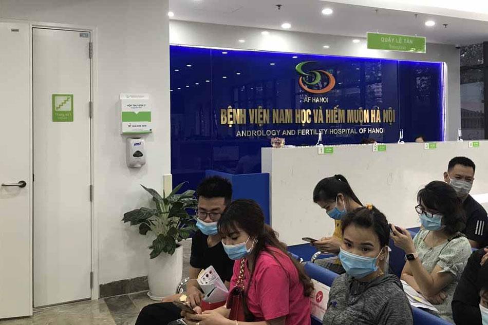 Các dịch vụ khám chữa bệnh tại Bệnh viện Nam học và Hiếm muộn Hà Nội