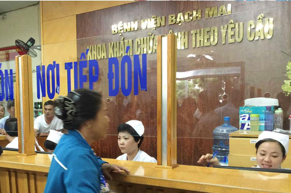 Các dịch vụ khám chữa bệnh tại phòng khám Đa khoa Bệnh viện Bạch Mai